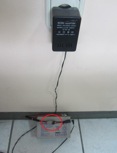 звуков индикатор за зареден оловен акумулатор 12V 3