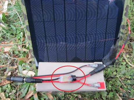звуков индикатор за зареден оловен акумулатор 12V 2