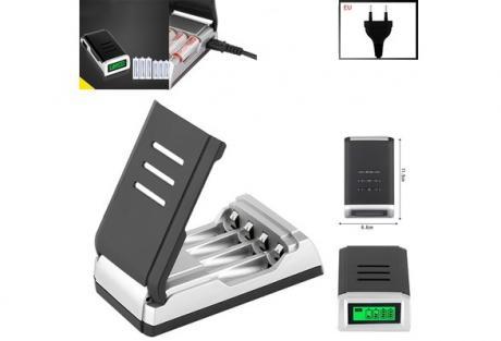 Интелигентно зарядно за акумулаторни /презареждаеми/ батерии 1
