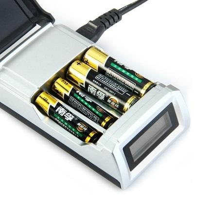 Интелигентно зарядно за акумулаторни /презареждаеми/ батерии 4