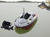 лодка за захранка  S KARP 60 с 5,8GHz радиоуправление