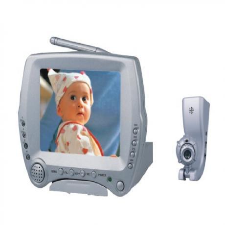безжичен видео бебефон 1