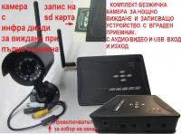 безжична камера +DVR