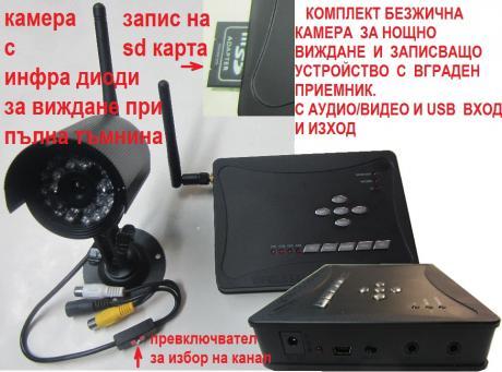 безжична камера +DVR 1
