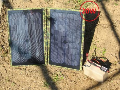 10/20W соларно зарядно за акумулатори  4